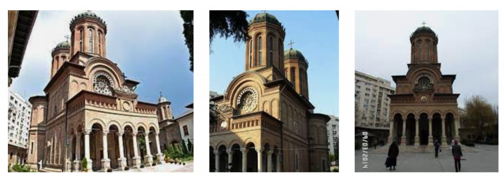 Православные храмы и соборы Бухареста. Брынковянский архитектурный стиль