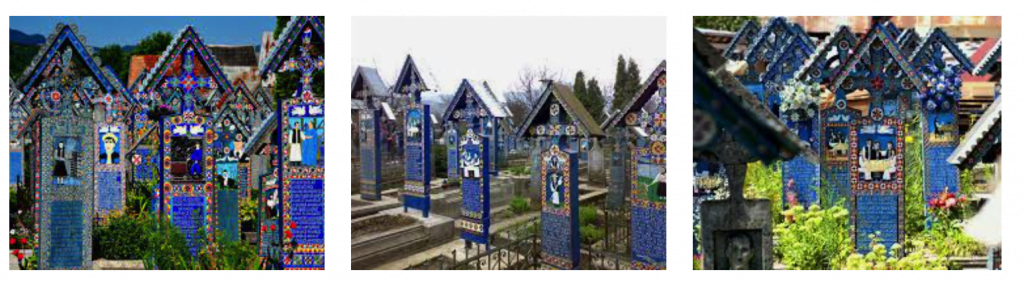 Для искушённых туристов о веселом кладбище в Румынии